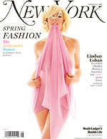 Lindsay Lohan - New York Magazine Cover
