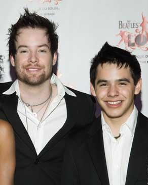 David Archuleta & David Cook, Same Hairstyle?