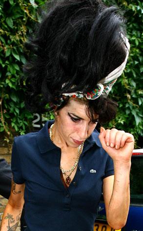 Amy Winehouse beehive hair