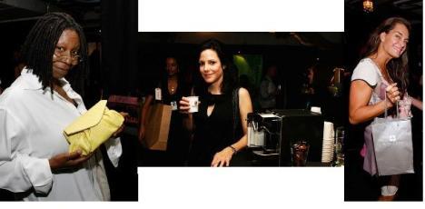 62nd Tony Awards Gift Lounge, Brooke Shields, Whoopi Goldberg, Mary Louise Parker