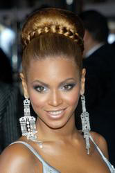 beyonce updo fighting temptation