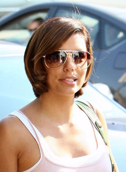 Eva Longoria Goes Short!