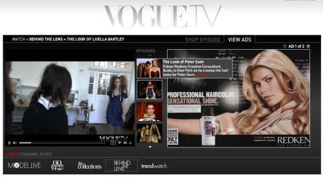 Behind the Lens Vogue & Redken