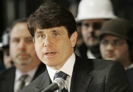 rod blagojevich haircut. Governor Rod Blagojevich?