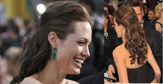 Angelina Jolie Hair Styles: Bridesmaid This Weekend